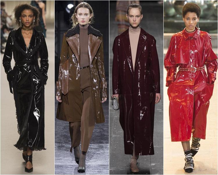 кожаное пальто весна 2017