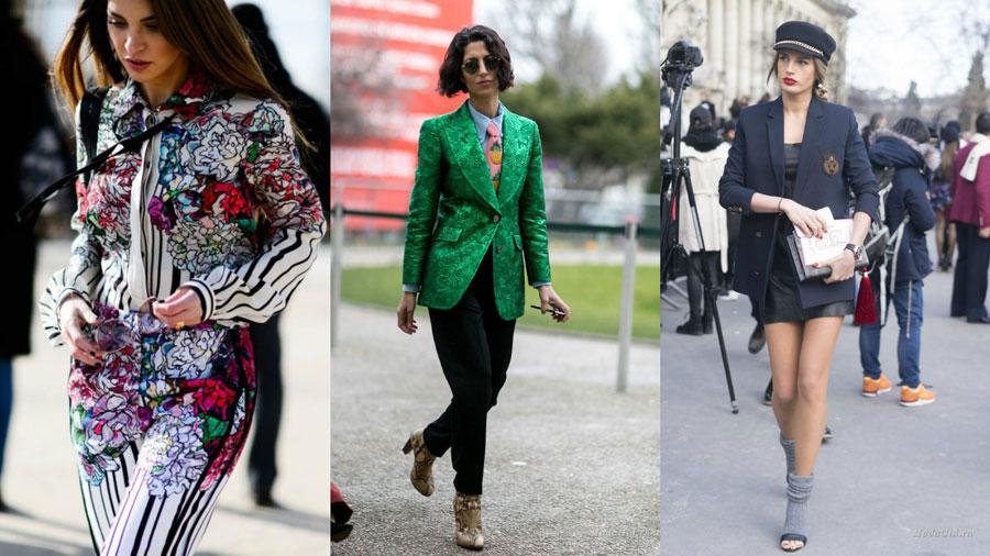 деловой стиль уличная мода весна 2017