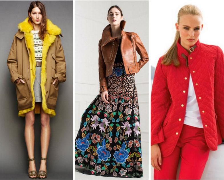 какая расцветка курток модная в 2017