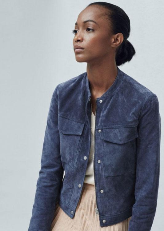 женская замшевая куртка 2017