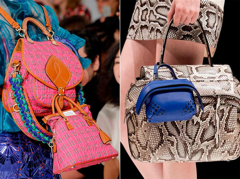 модные рюкзаки весна лето 2017