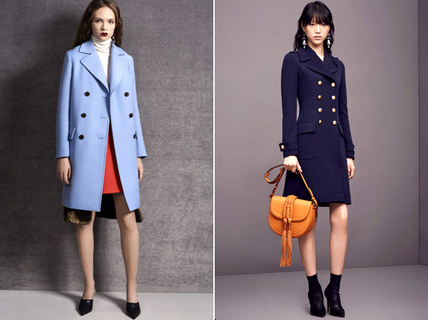 классическое пальто весна 2017