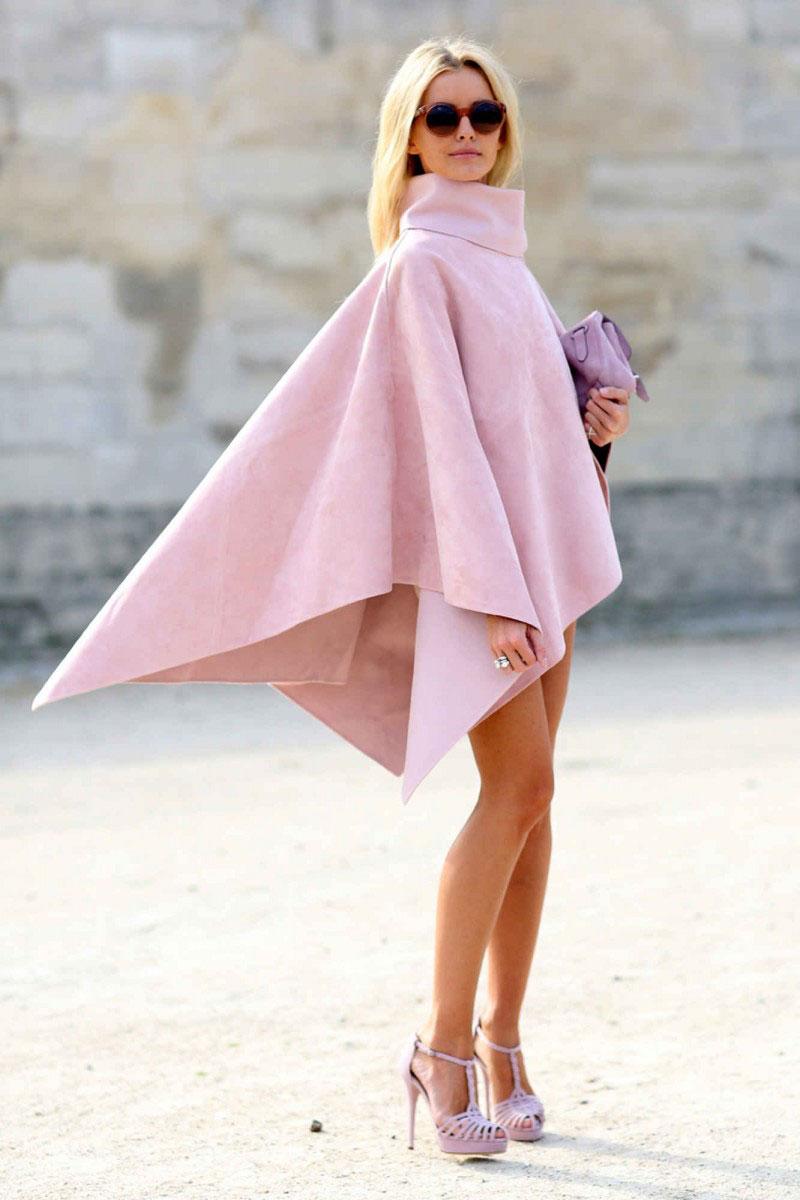 розовый в уличном стиле 2017