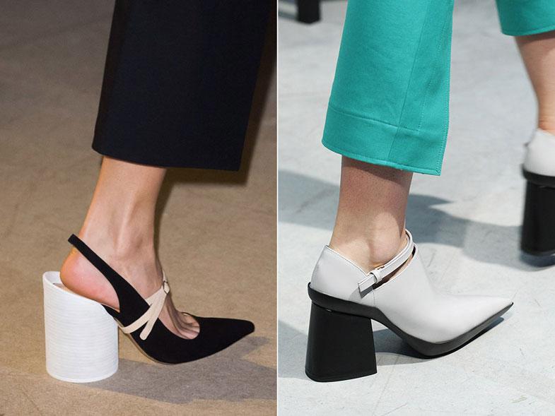 женские туфли на квадратном каблуке весна 2017