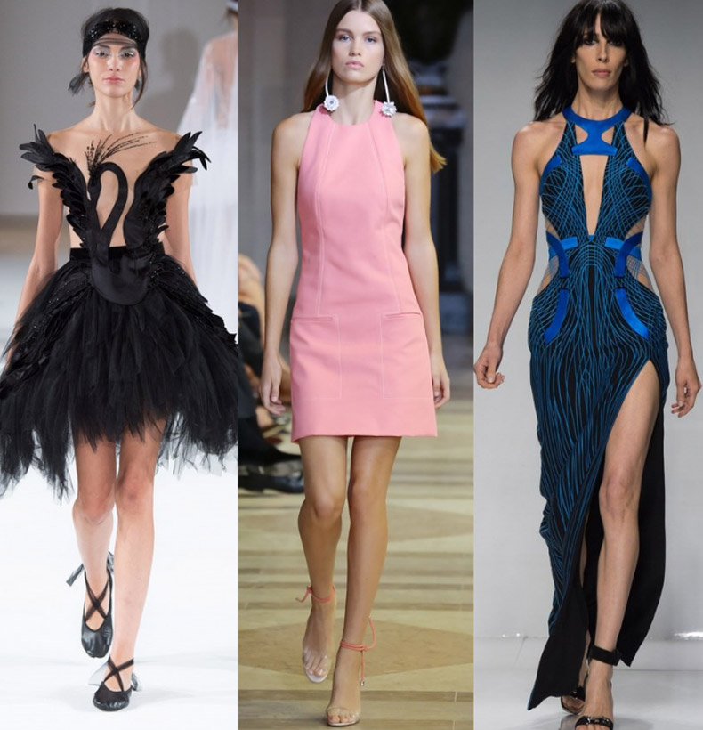 модный фасон платья лето 2017