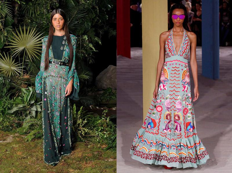 платье в этностиле лето 2017