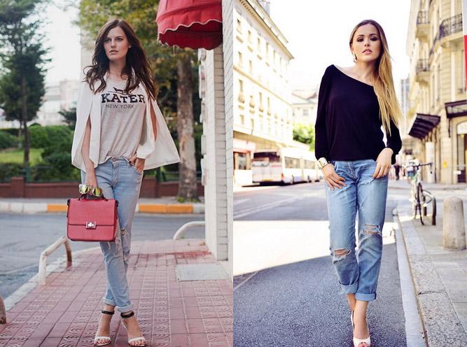 модные джинсы бойфренды 2017