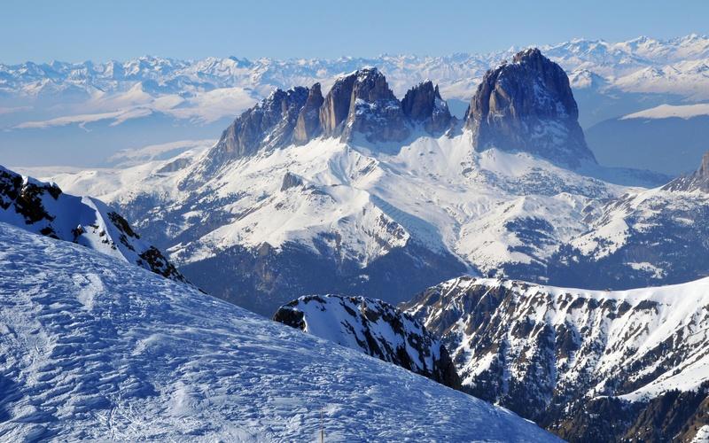 Характерные особенности перехода различных видов горных склонов