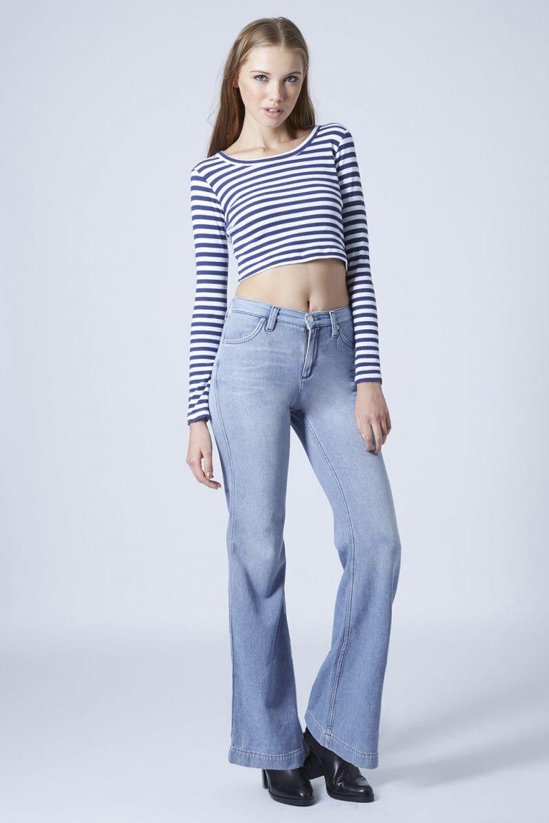 джинсы клеш варенки