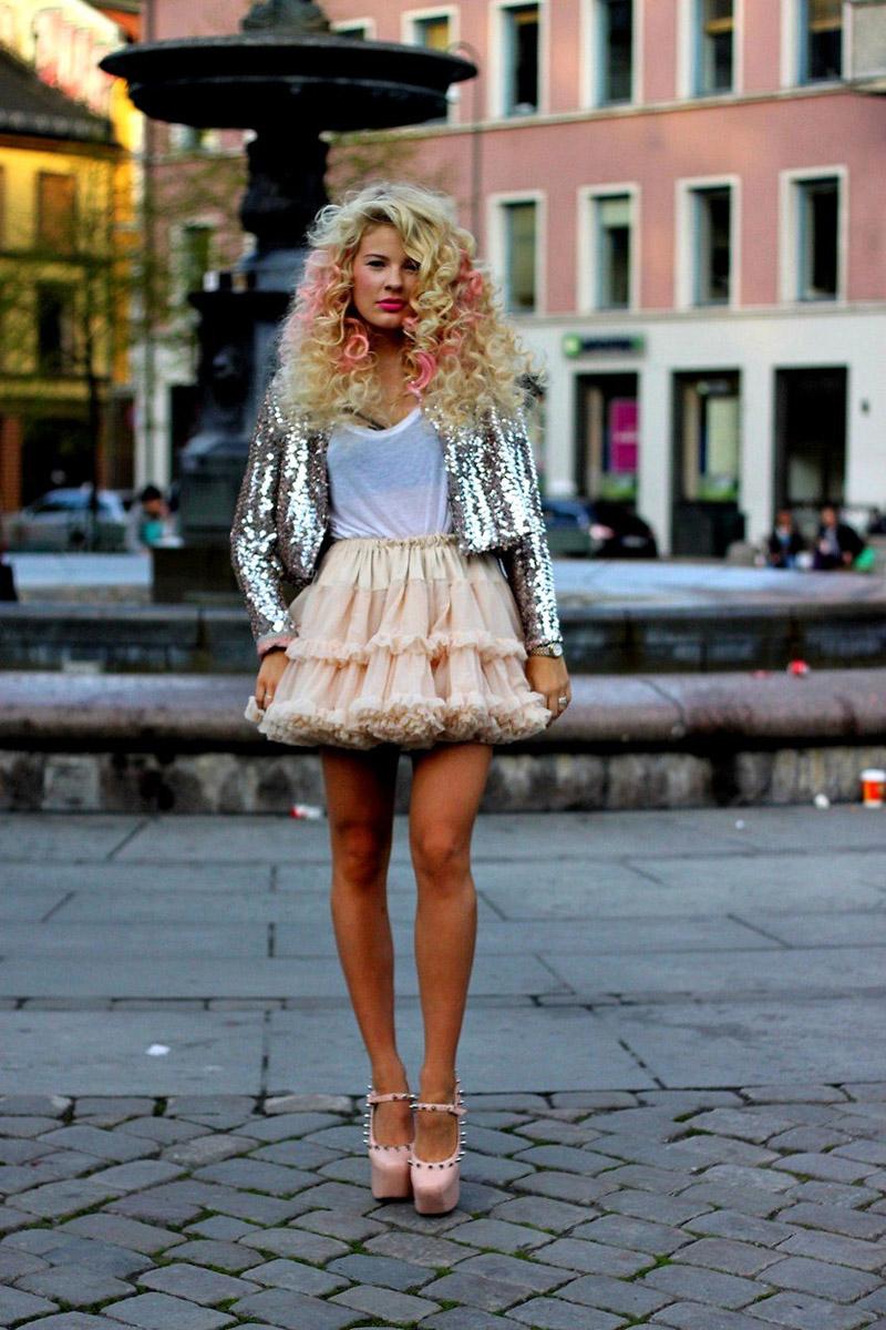 как носить розовые туфли правильно