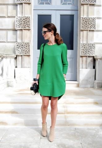 туфли под зеленое платье