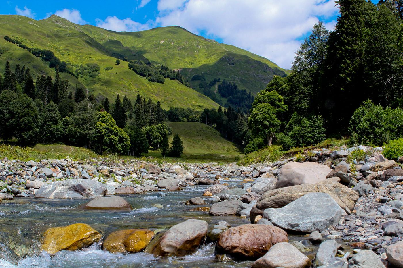 Переход реки вброд или когда река не преграда