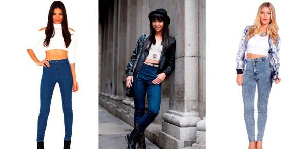 какие джинсы с высокой посадкой выбрать