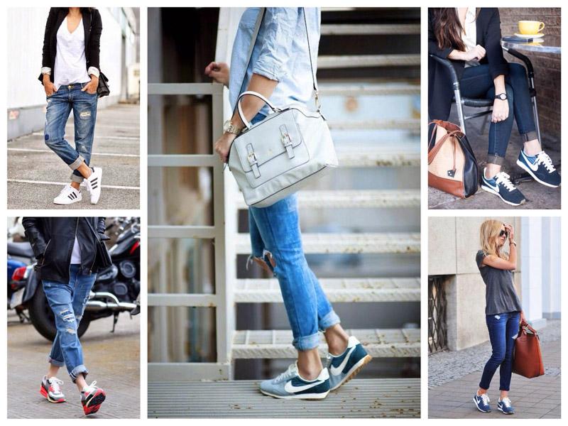 модные джинсы варенки