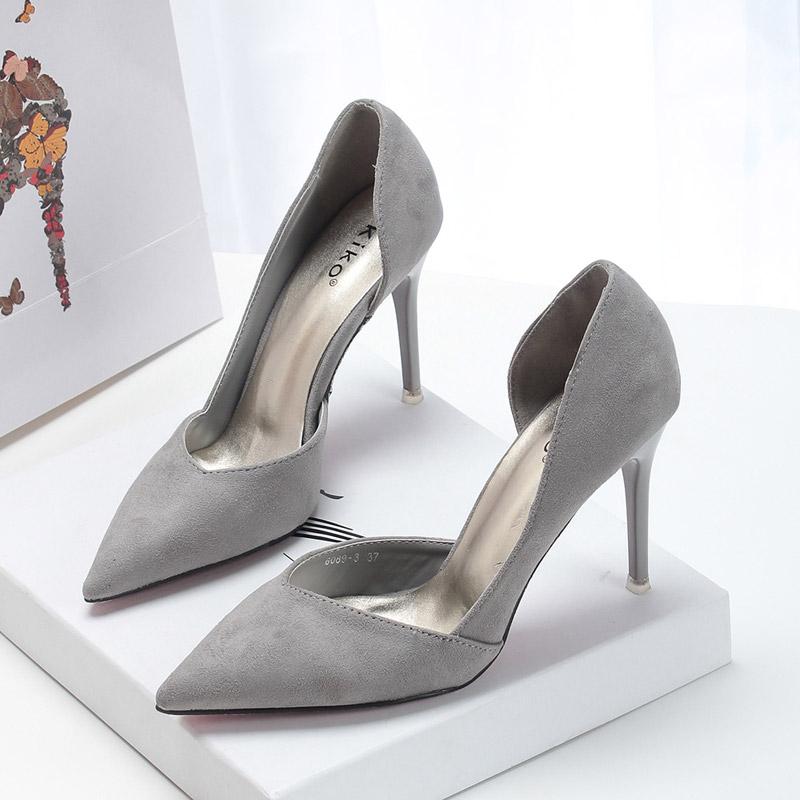 Сочетание цвета: с чем носить серые туфли