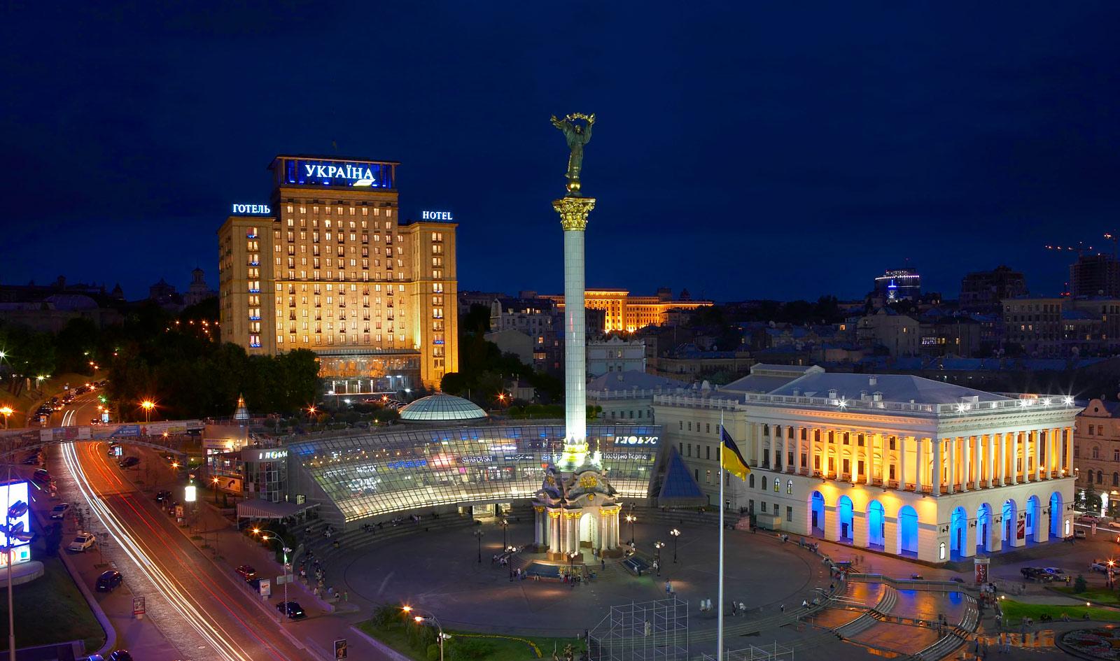Украина — лучшее место для туризма