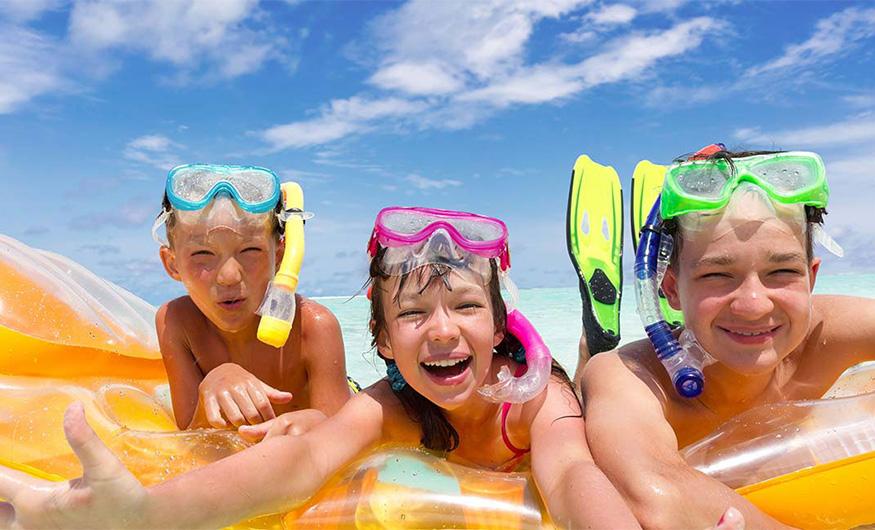 Как провести отпуск вместе с детьми