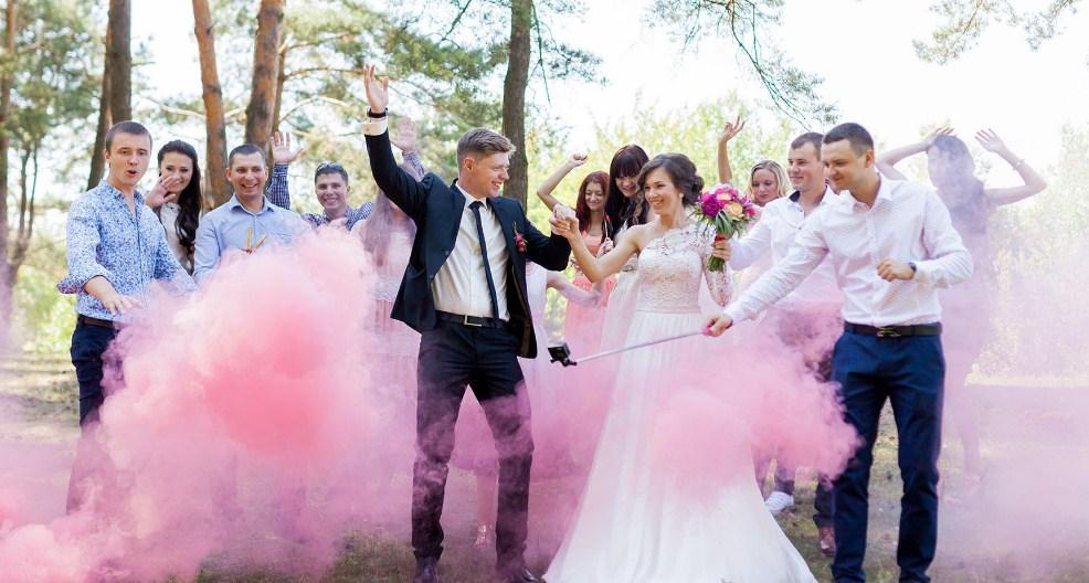 Зажигательная свадьба: тропический стиль