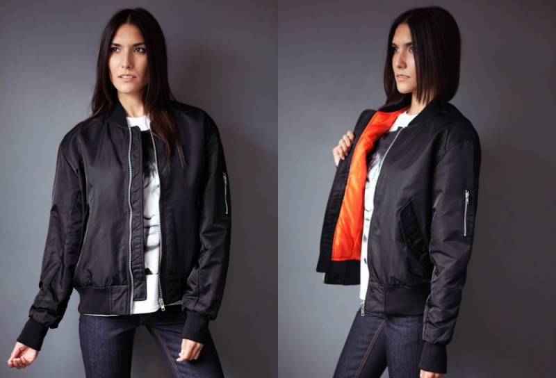 Куртка бомбер женская: стильные образы
