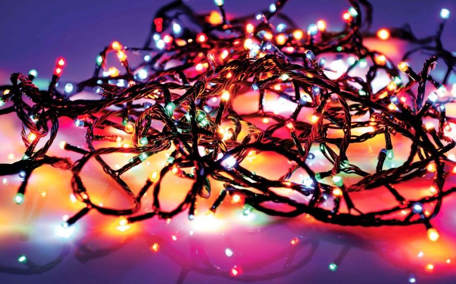 Светодиодные гирлянды: современный тип праздничной иллюминации