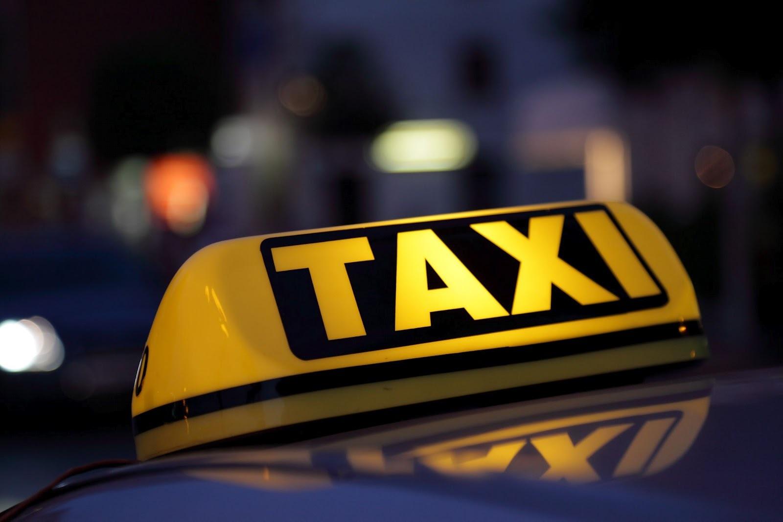 Выбираем службу такси