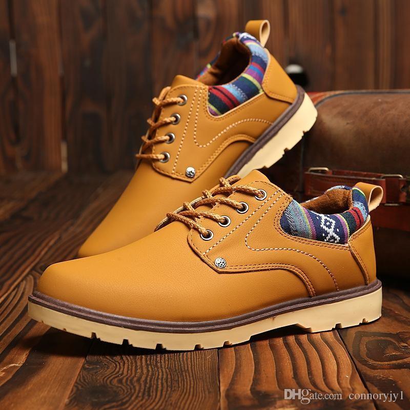 Рекомендации по выбору мужских ботинок на зиму