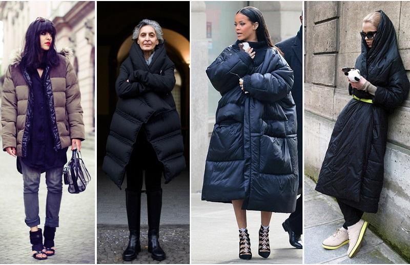 Самые модные куртки зимой 2018