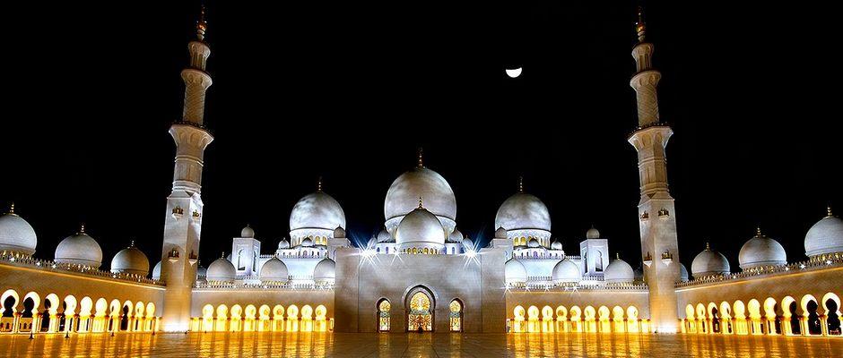 Великая мечеть Абу-Даби