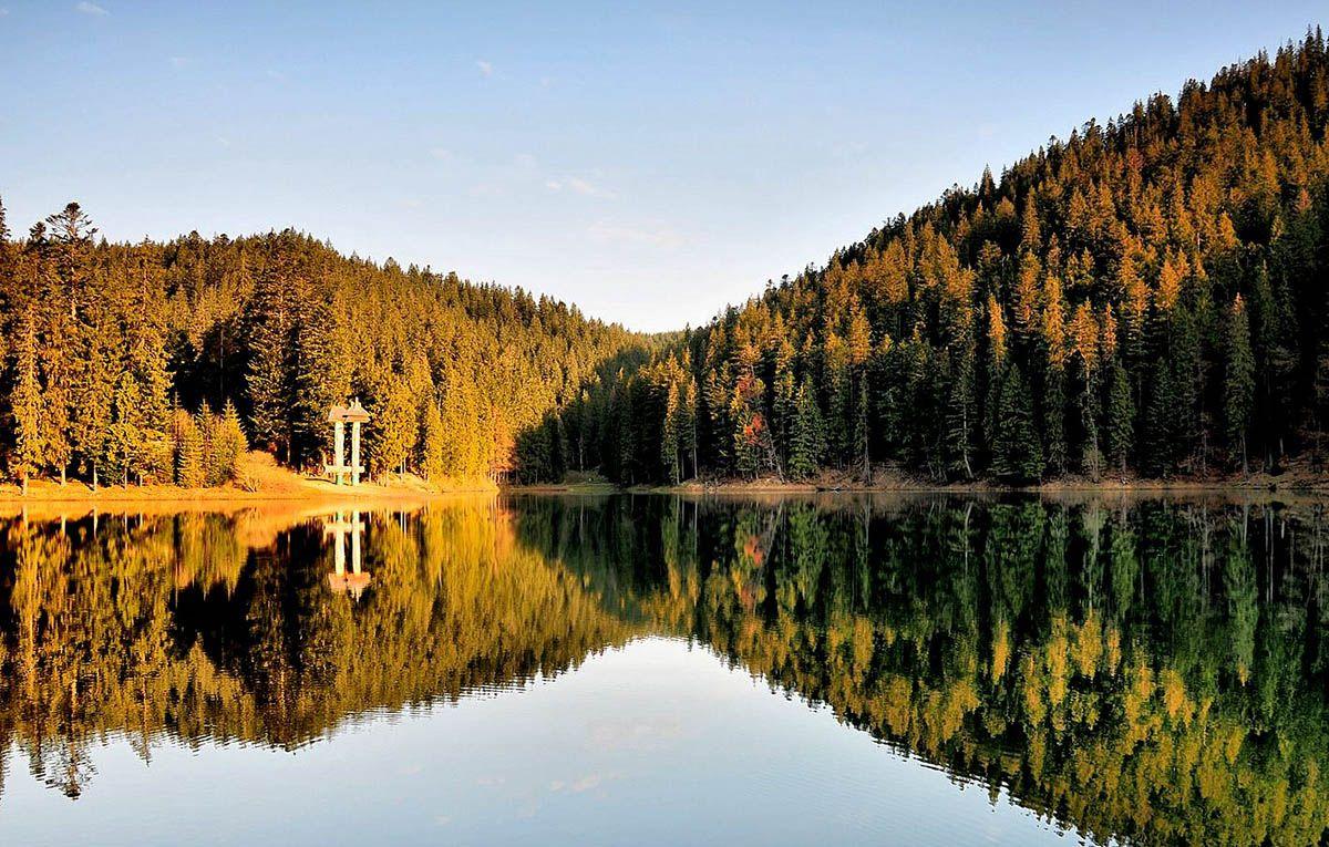 5 замечательных мест для отдыха осенью