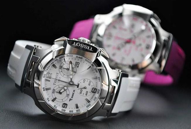 Купить белые женские швейцарские часы в Украине
