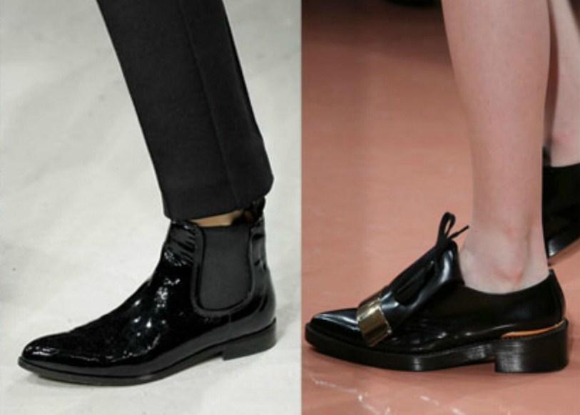 Осенняя обувная мода