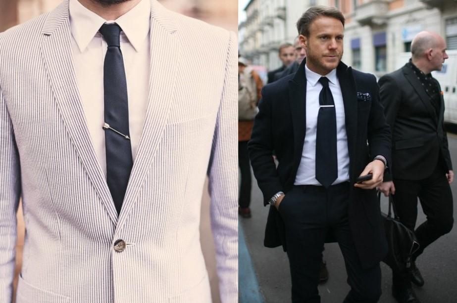 Чем отличается узкий галстук от широкого?