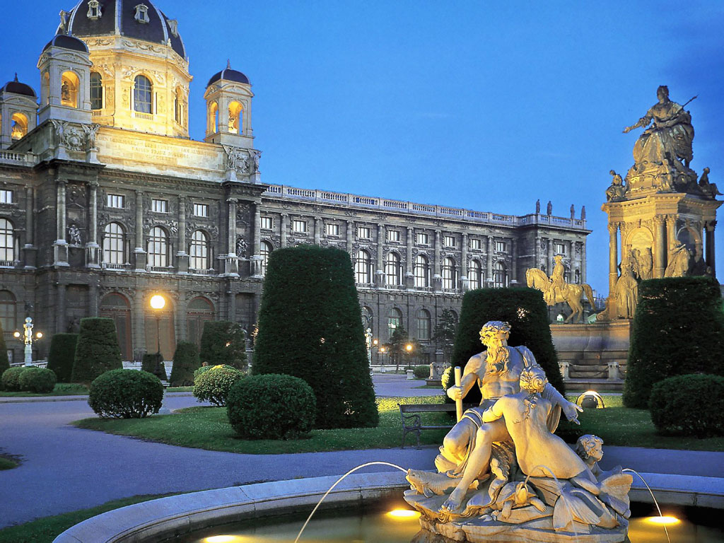 Экскурсионные посещения Австрии