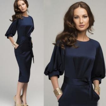 Деловое платье для красивой женщины