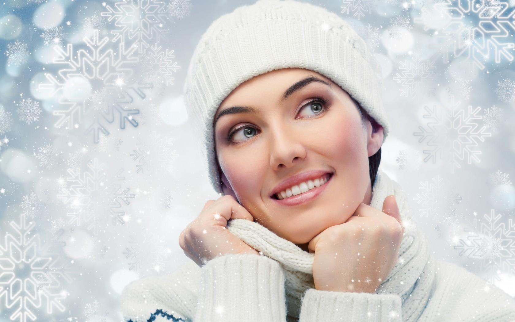 Зима добавляет женщине несколько лет