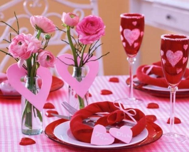 Как отметить день влюбленных