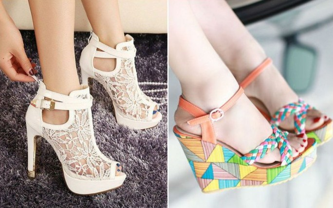 Обзор трендов — модная женская обувь 2018 на весенний период года
