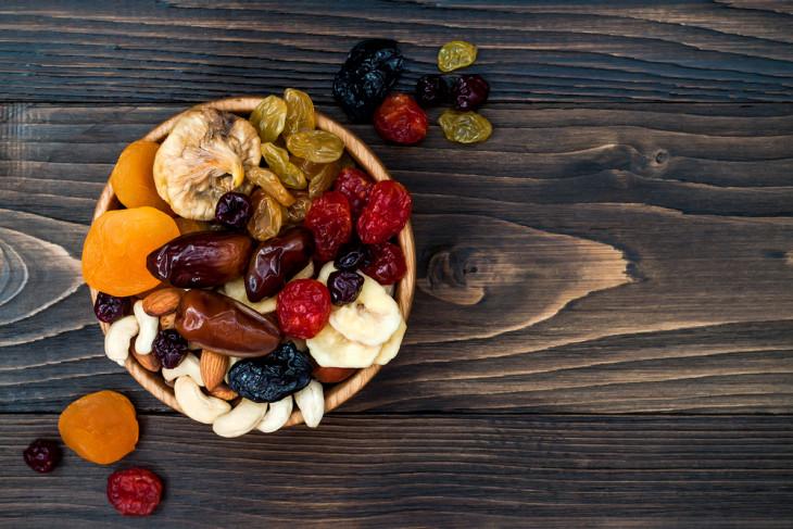 Сухофрукты – полезная замена кондитерским сладостям
