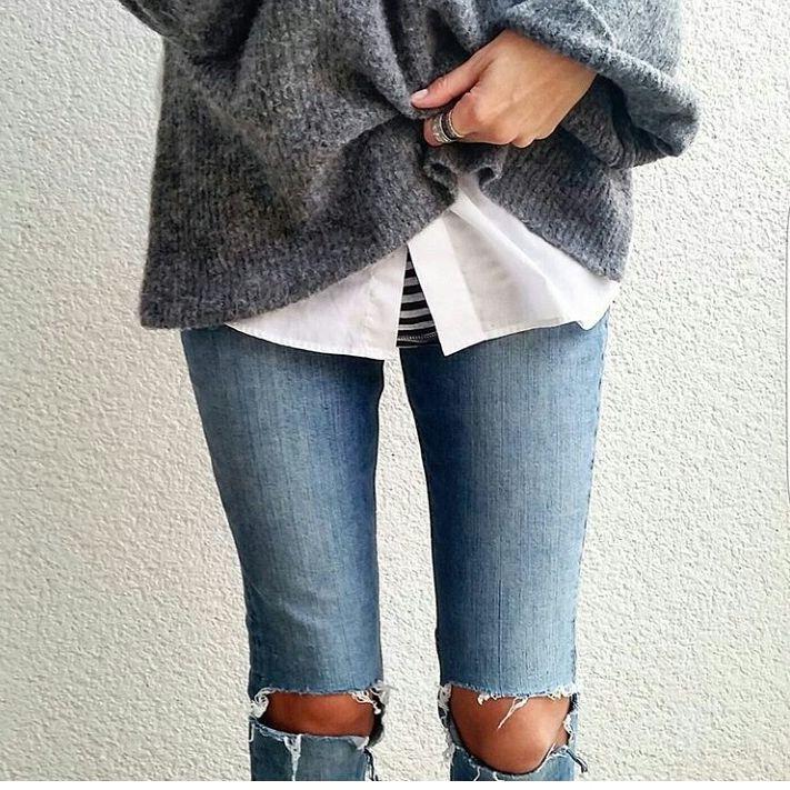 Современные джинсы упрощаю жизнь
