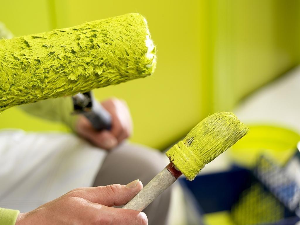 Хитрости работы с краской