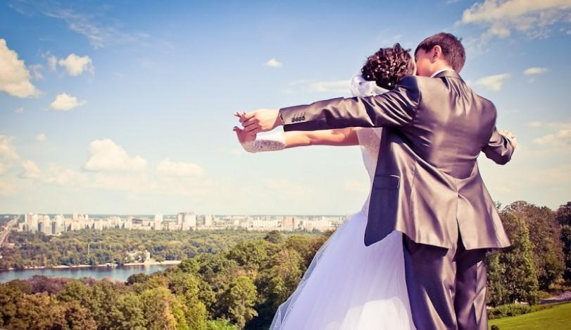 Свадьба в Киеве: перечень наиболее красивых мест для видеосъемки