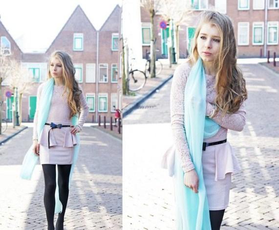 Как носить пастельные цвета
