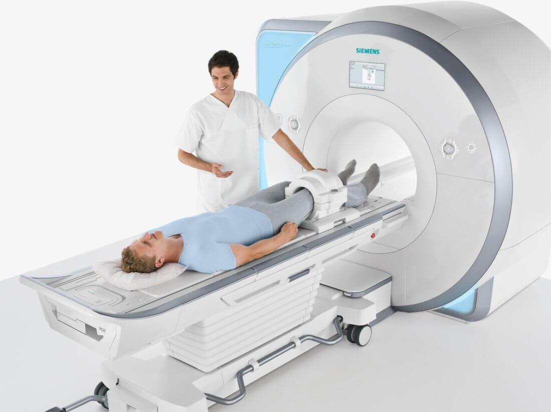 Особенности процесса томографии ноги