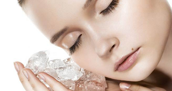 Косметический лед и сухая кожа