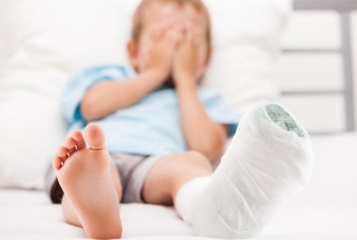 Переломы у детей