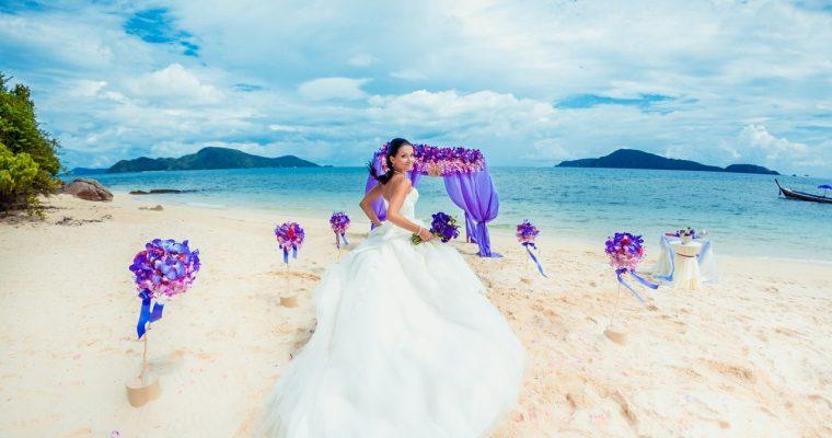 Буддийская свадьба в Таиланде