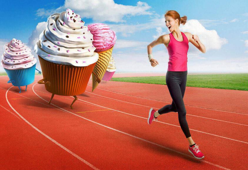 Физические нагрузки и сила духа против излишнего веса