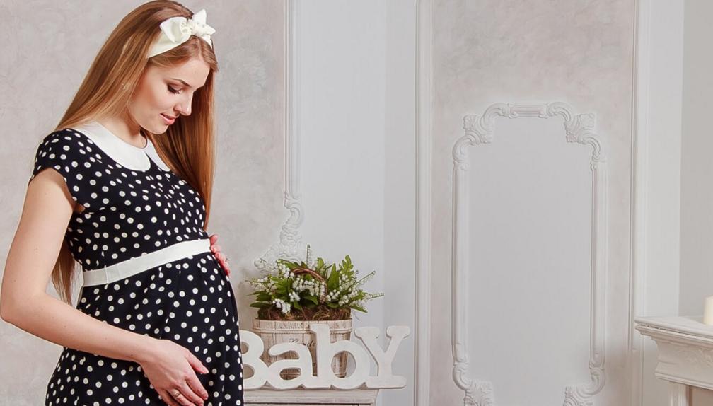 Платья для будущих мам по типу фигуры