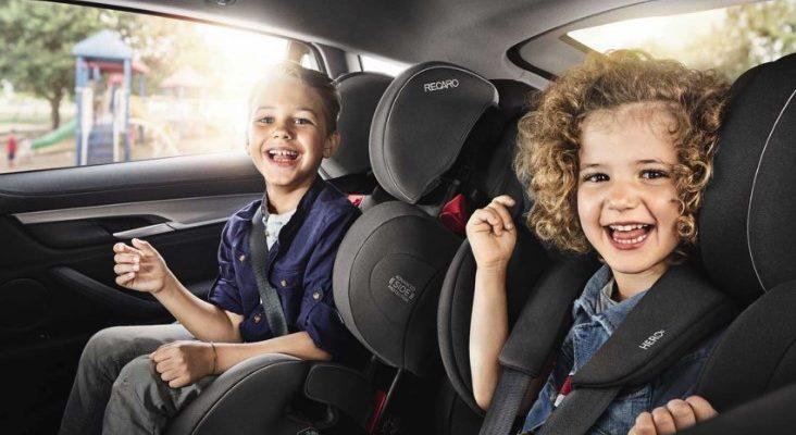 Автокресла Recaro — «растущие» вместе с детьми