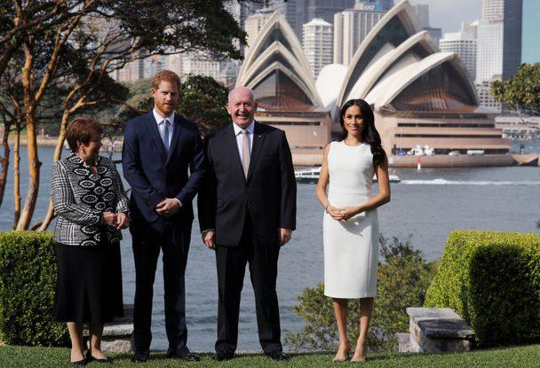 Меган Маркл и Принц Гарри получили трогательные подарки в Австралии